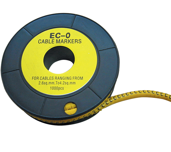CABLE MARKING TAG EC-0-4 /SECTION 1.5-3.2/