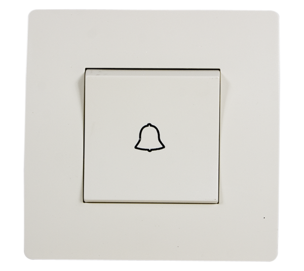 EL BASIC TG112 DOORBELL SWITCH CREAM-OLD