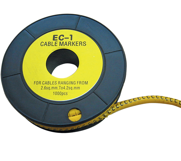 CABLE MARKING TAG EC-1-9 /SECTION 2.6-4.2/