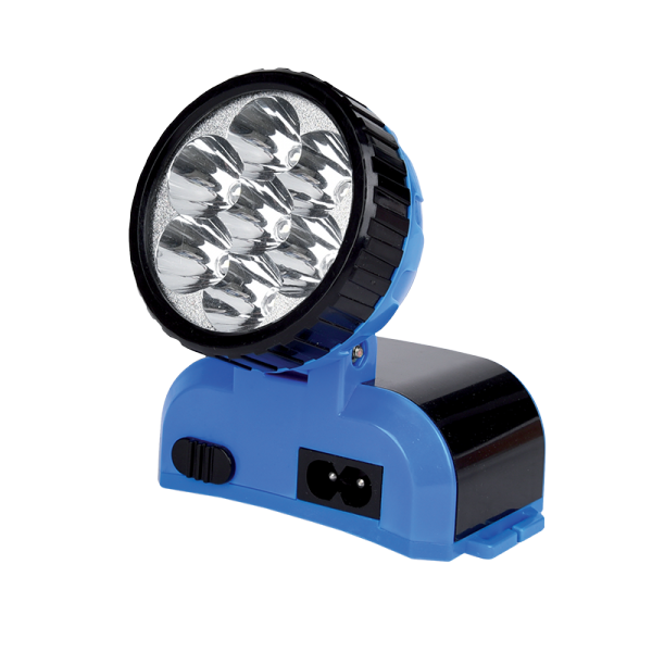 LED RECHARGEABLE HEADLAMP 12LED 4V 500mAh